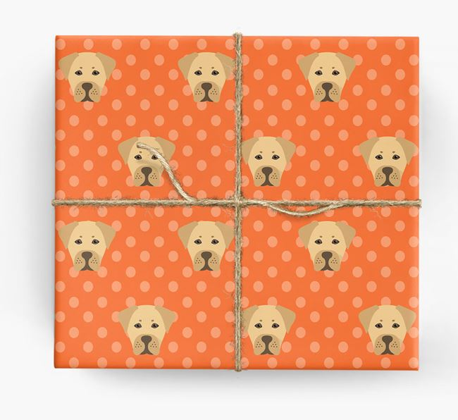Boxador Wrapping Paper