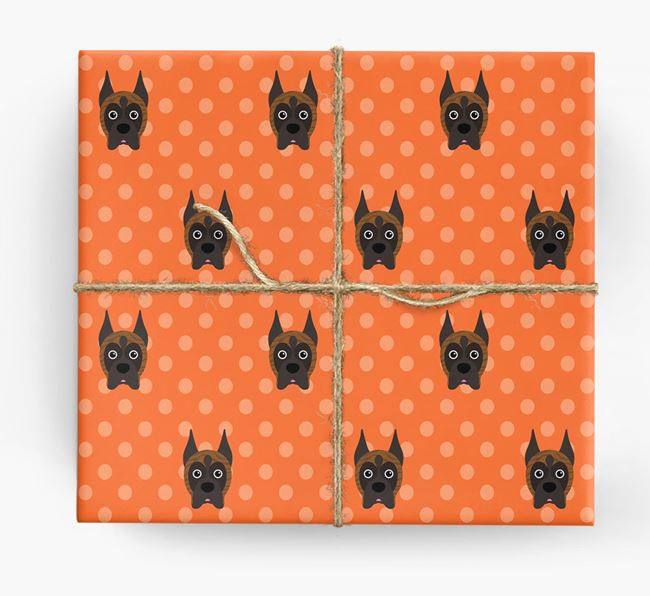 Boxer Wrapping Paper