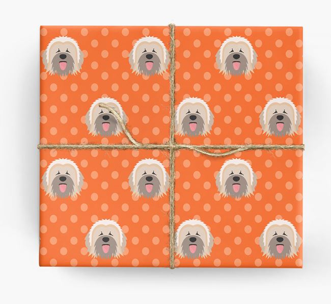 Briard Wrapping Paper
