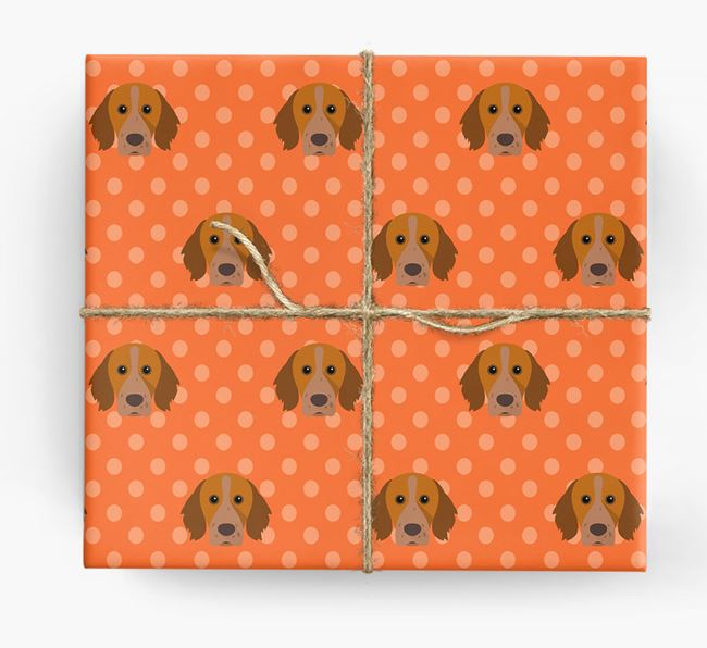 Brittany Spaniel Wrapping Paper