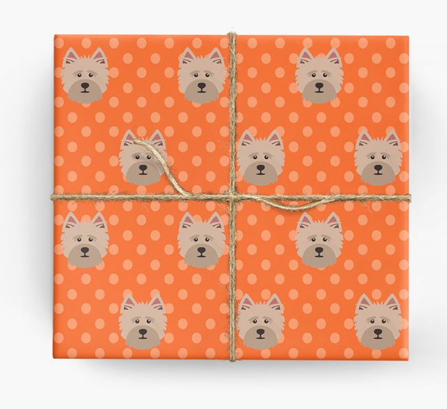 Cairn Terrier Wrapping Paper