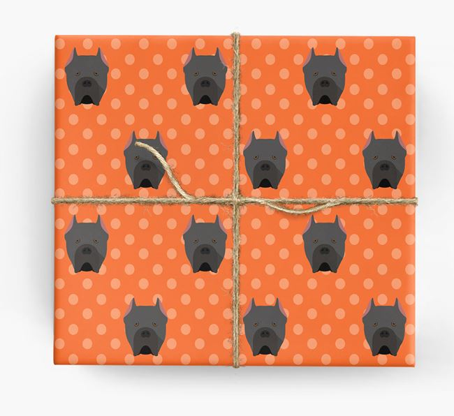 Cane Corso Wrapping Paper