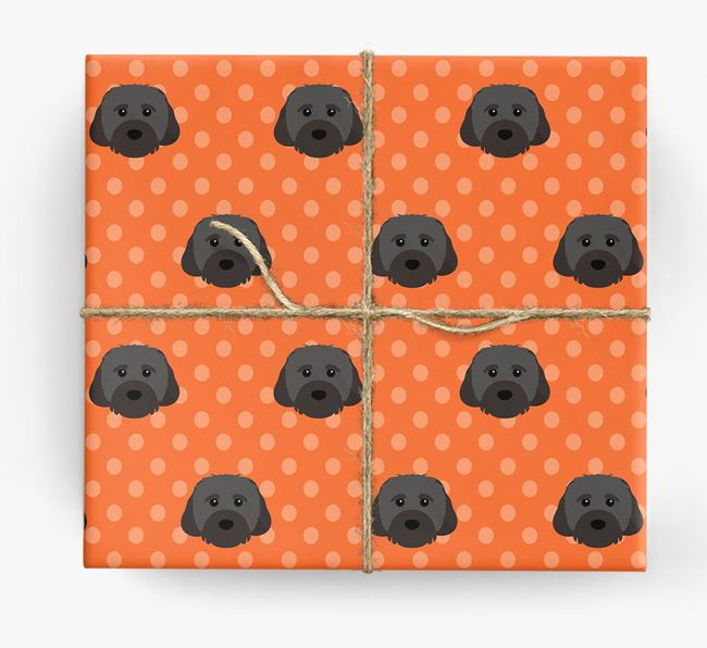 Cavachon Wrapping Paper