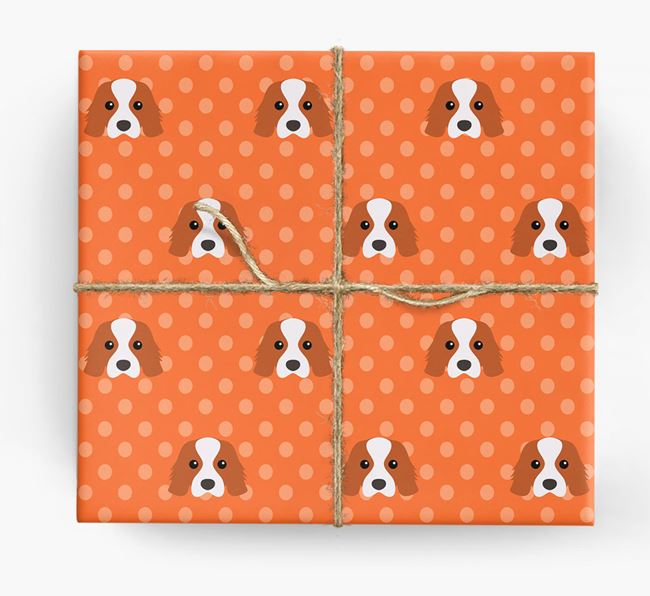 Cavalier King Charles Wrapping Paper