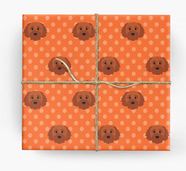 Cavapoochon Wrapping Paper