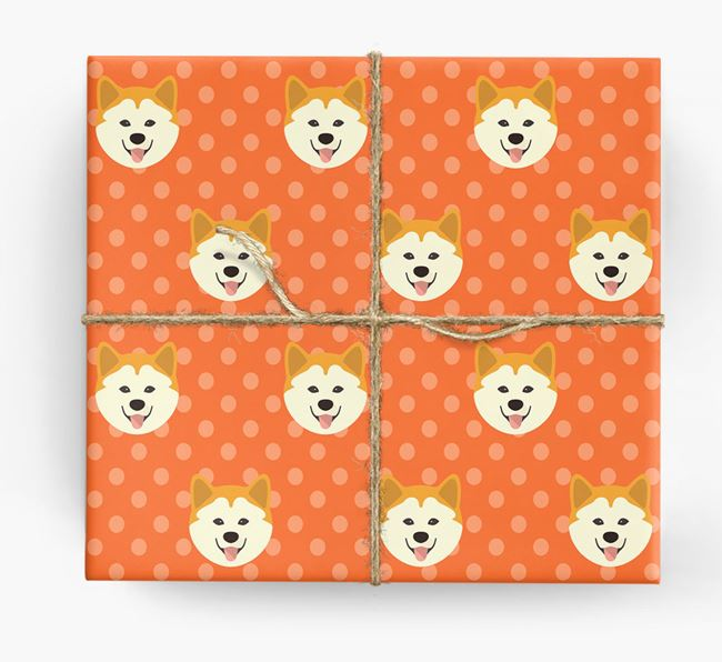 Chusky Wrapping Paper