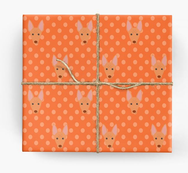 Cirneco Dell'Etna Wrapping Paper