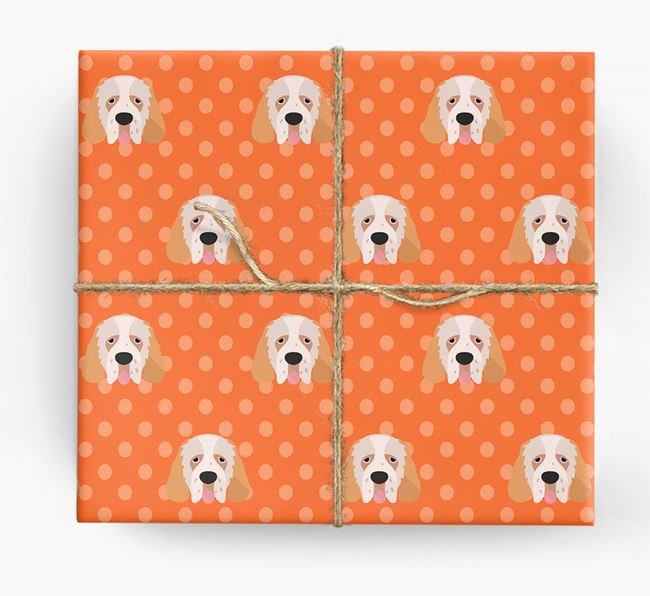 Clumber Spaniel Wrapping Paper