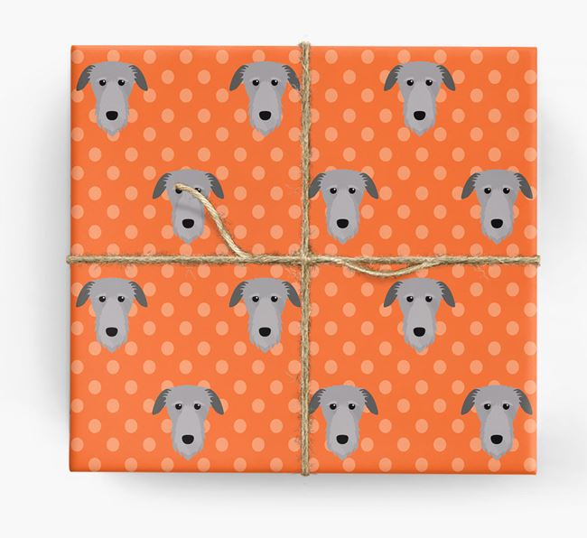 Deerhound Wrapping Paper