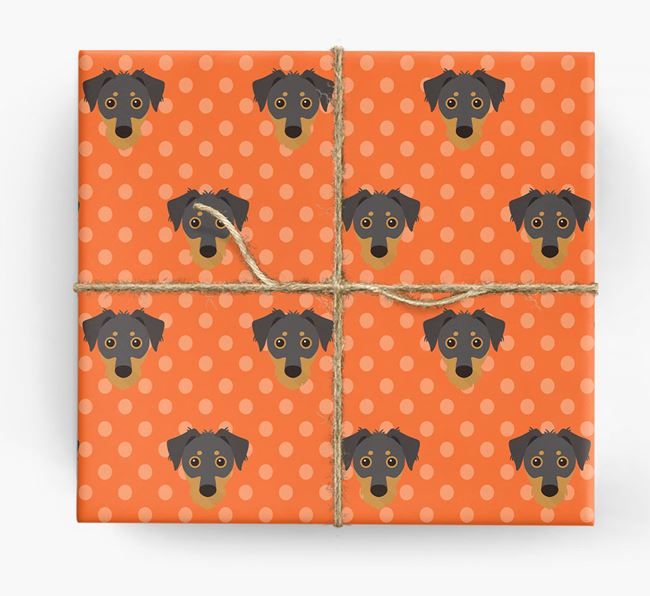 Dorkie Wrapping Paper