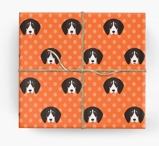 English Coonhound Wrapping Paper