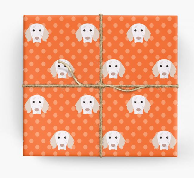 English Setter Wrapping Paper