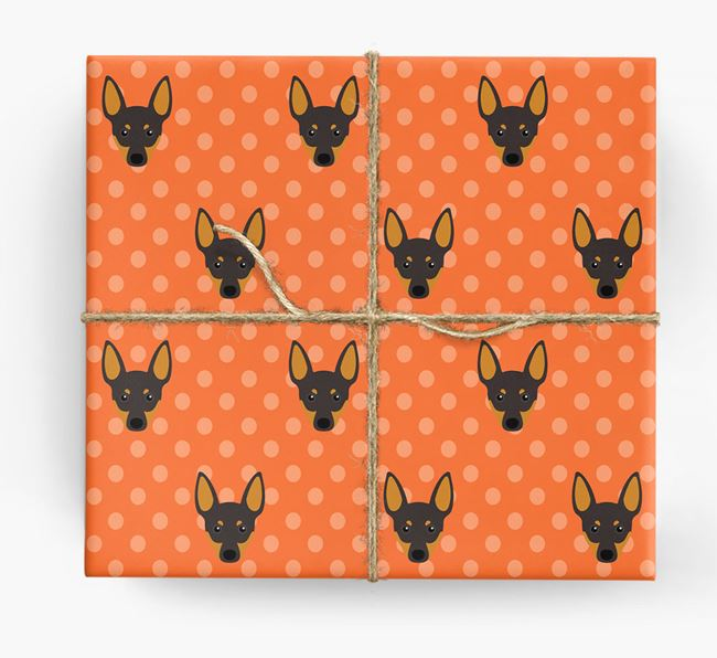 Toy Terrier Wrapping Paper