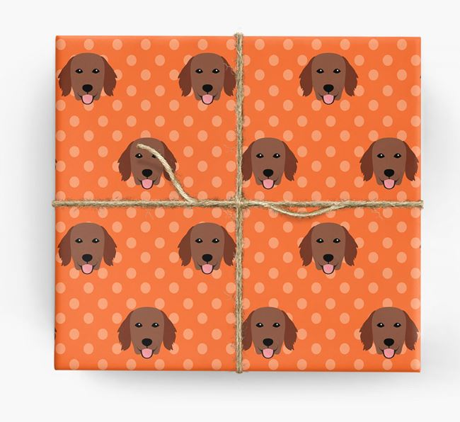 Flatcoat Wrapping Paper