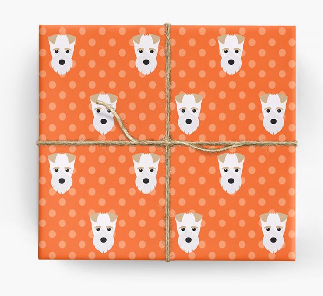 Fox Terrier Wrapping Paper