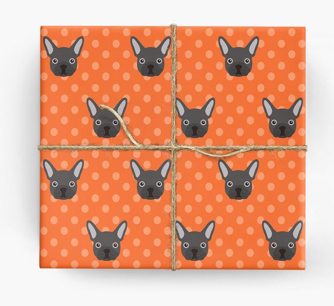 Frenchie Wrapping Paper