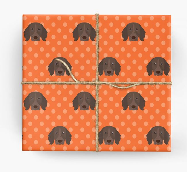 Longhaired Pointer Wrapping Paper