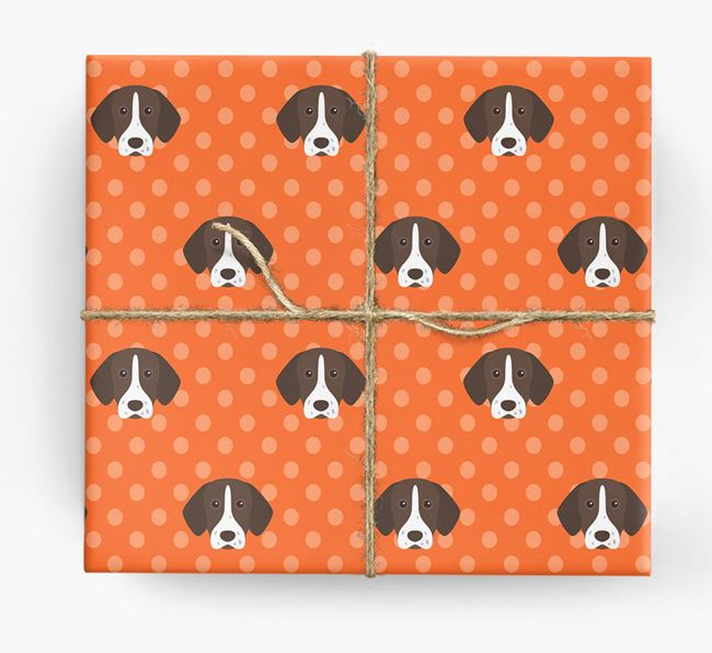 Shorthaired Pointer Wrapping Paper
