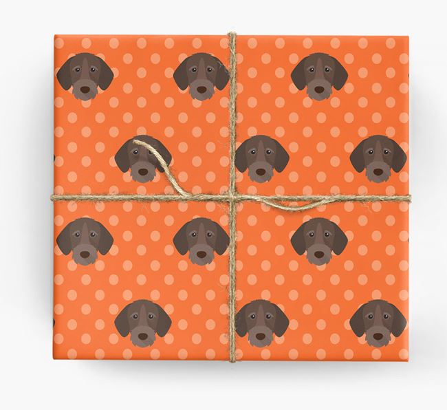 Wirehaired Pointer Wrapping Paper