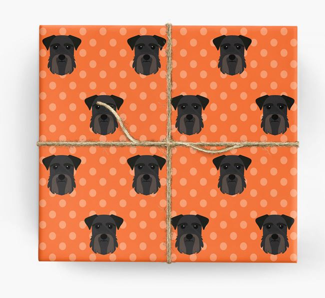 Giant Schnauzer Wrapping Paper