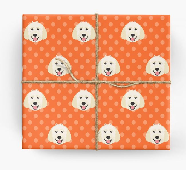 Goldendoodle Wrapping Paper