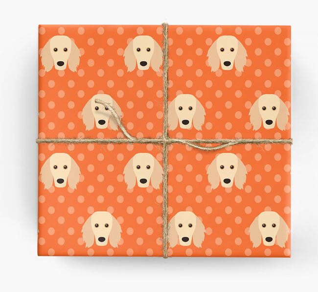 Golden Dox Wrapping Paper
