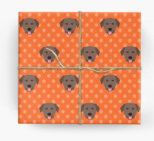 Golden Lab Wrapping Paper