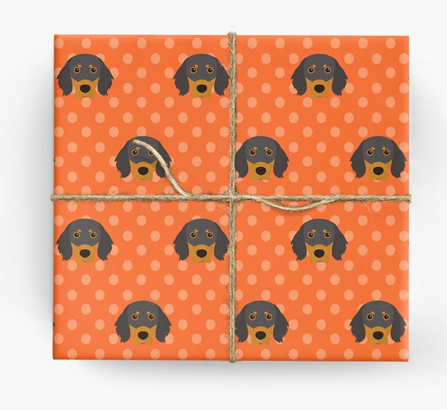 Gordon Setter Wrapping Paper