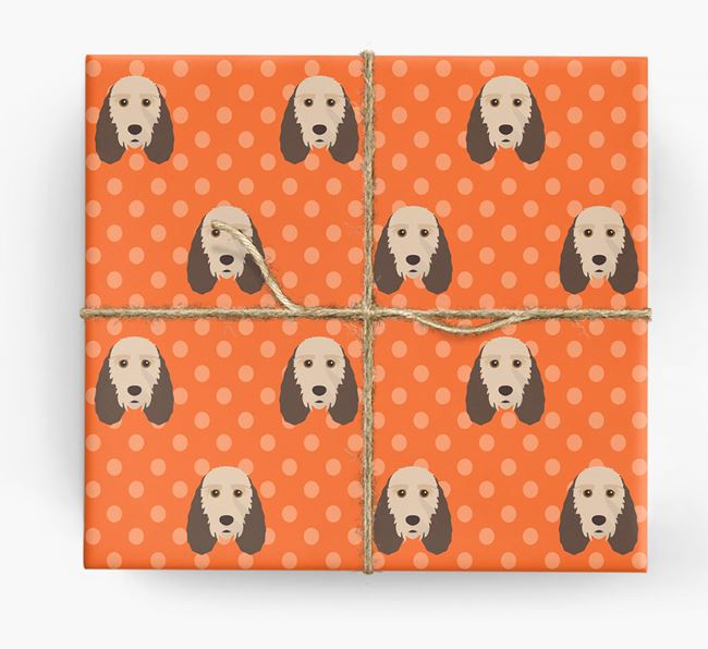 Basset Griffon Wrapping Paper