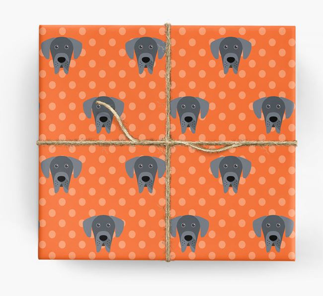 Great Dane Wrapping Paper