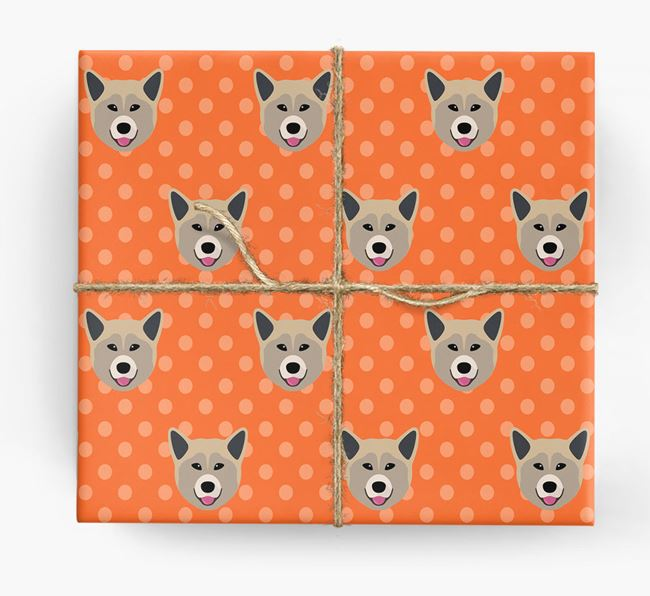 Greenland Dog Wrapping Paper