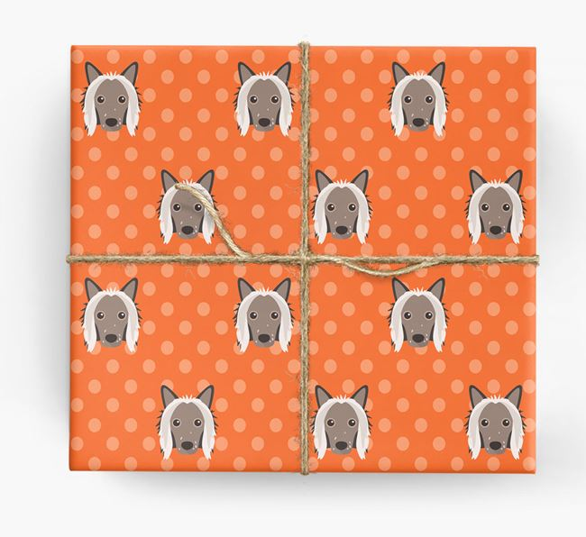 Chinese Crested Wrapping Paper