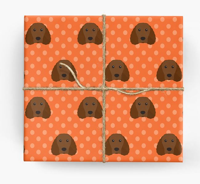 Water Spaniel Wrapping Paper