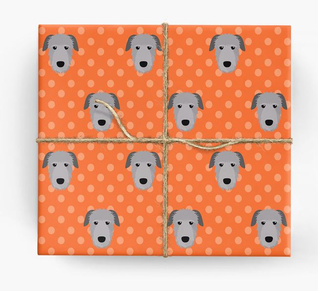 Irish Wolfhound Wrapping Paper