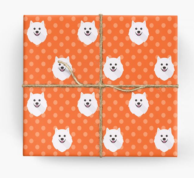 Japanese Spitz Wrapping Paper