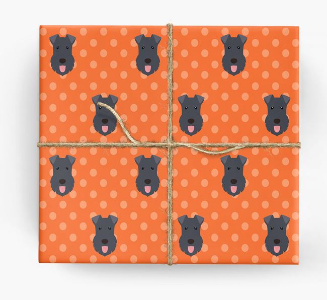 Kerry Blue Wrapping Paper