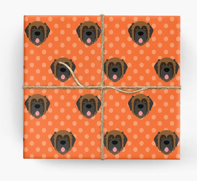 Leonberger Wrapping Paper
