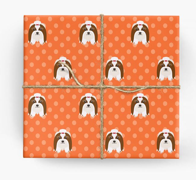 Lhasa Apso Wrapping Paper