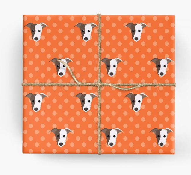 Lurcher Wrapping Paper