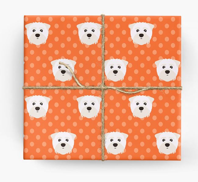 Maltipom Wrapping Paper