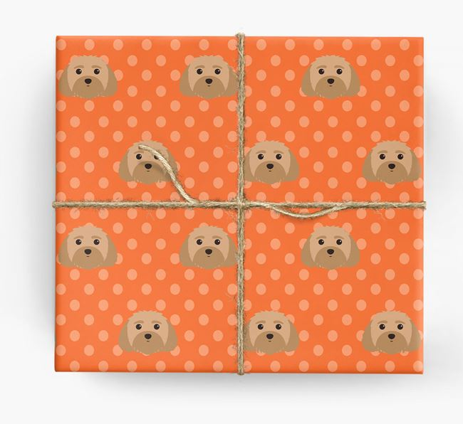Malti-Poo Wrapping Paper