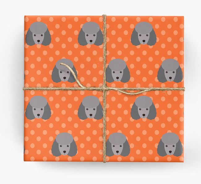 Miniature Poodle Wrapping Paper