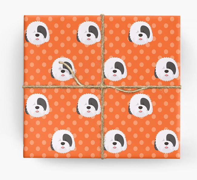 Sheepdog Wrapping Paper