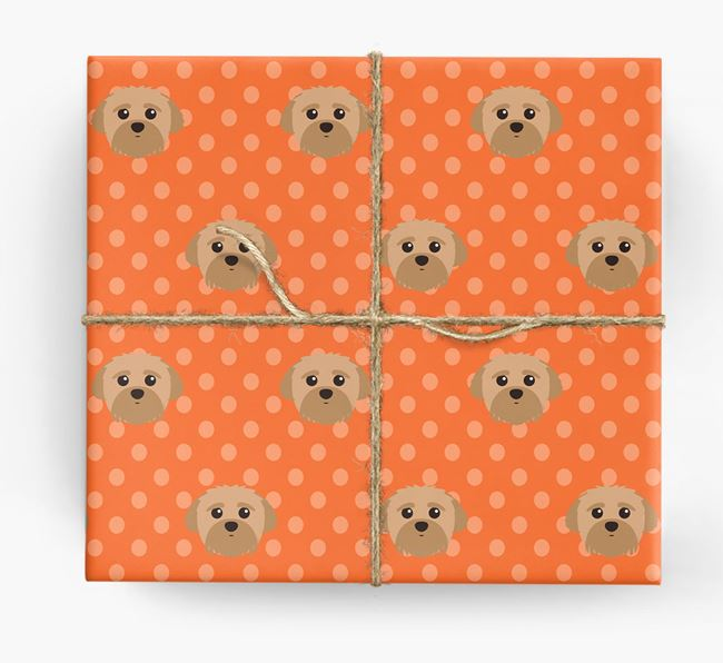 Peek-a-poo Wrapping Paper