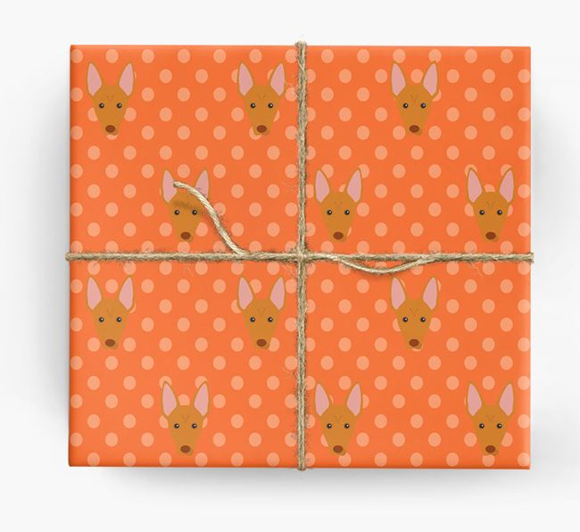 Pharaoh Hound Wrapping Paper