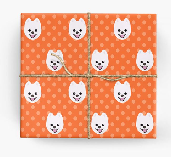 Pomsky Wrapping Paper