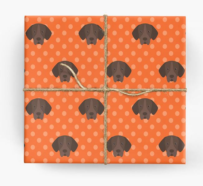 Portuguese Pointer Wrapping Paper