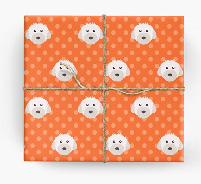 Powderpuff Wrapping Paper