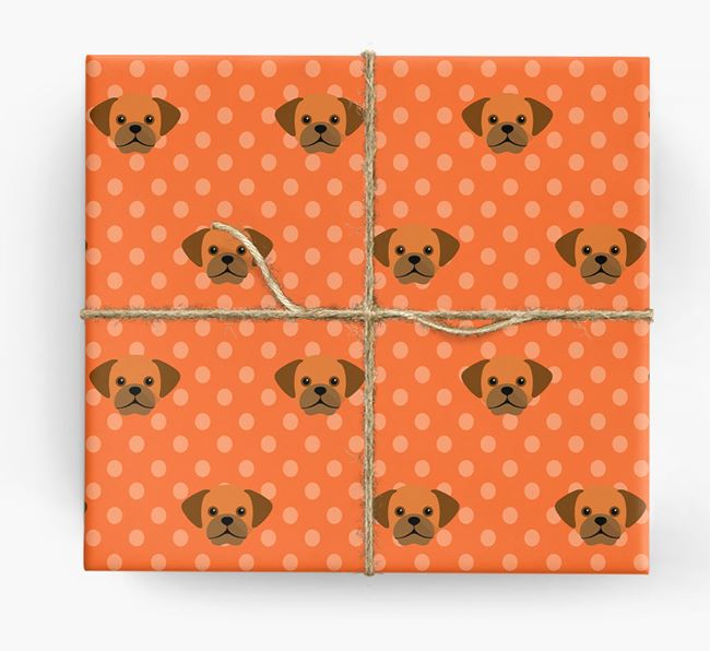 Puggle Wrapping Paper