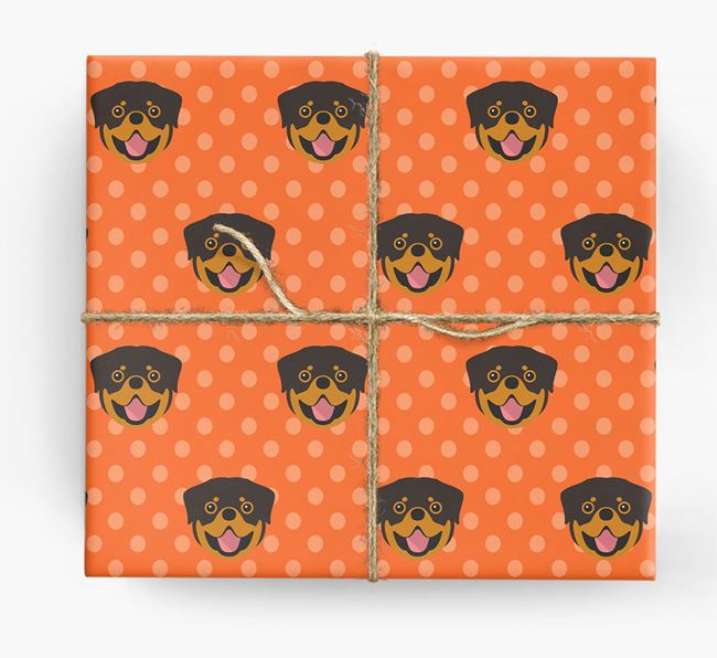 Rottweiler Wrapping Paper